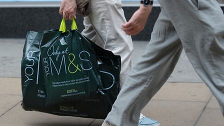 Marks and Spencer today announced a 12th quarter in a row of declining sales for its clothing and ho