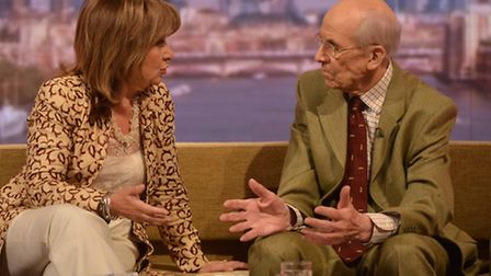 Labour peer Baroness Helena Kennedy and the former Conservative cabinet minister Lord Tebbit appeari