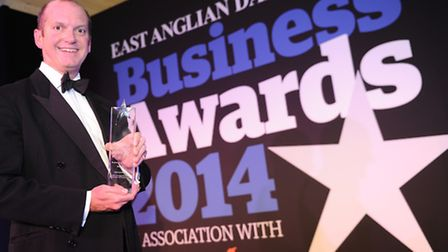 Barry Chevallier Guild of Business of the Year winner Aspall.