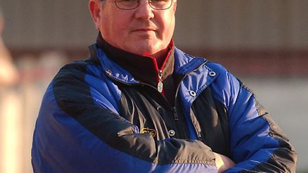 Tony Last in his managing days for Witham Town