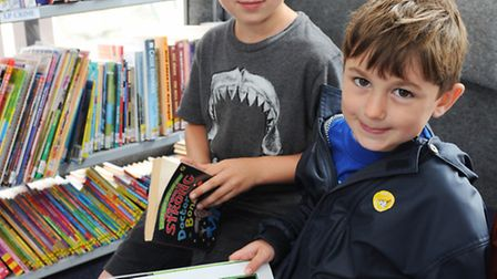 Rory and Tibo Salter choose their next reads