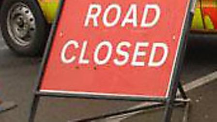 A road is closed in Haverhill because of fallen cables