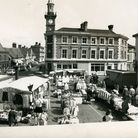 Harleston market place in May 1989. Picture: Archant Library