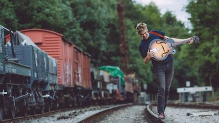 George Ezra, playing Latitude this weekend. Photo: Danny North