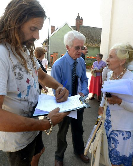 Feelings running high in Needham Market as residents, businesses and customers protest over the impe