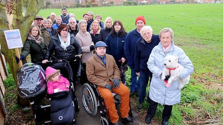 Residents in Needham Market have been successful in their bid to prevent new homes being built