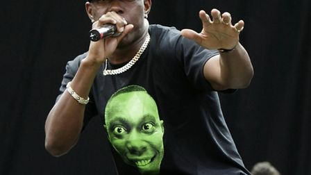 Dizzee Rascal will be at Newmarket on Friday night