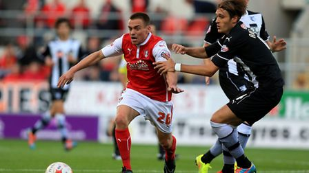 Paul Taylor in action for Rotherham