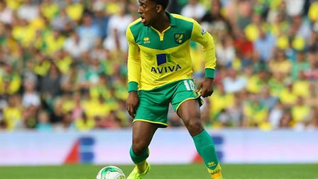 Norwich City midfielder Leroy Fer looks set to head to QPR. Picture by Paul Chesterton/Focus Images