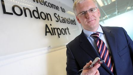 Andrew Harrison, managing director at Stansted Airport.