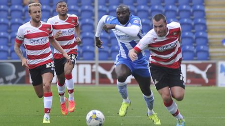 Jabo Ibehre gives chase