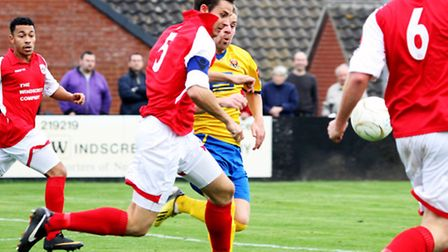 Derby Day action from a previous Sudbury - Needham encounter
