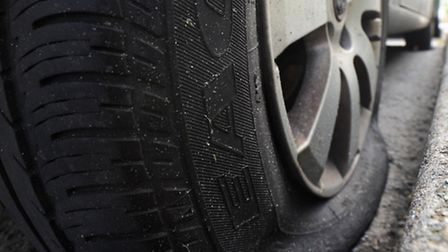 16 vehicles have had tyres slashed in four days in the New Town area of Colchester