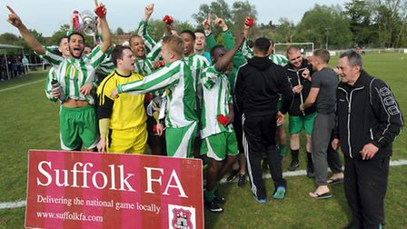 Whitton celebrate their victory in last season's competition.