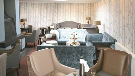 The new-look lounge area at the Stoke by Nayland Hotel, Golf & Spa.
