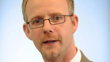 Dr Stephen Dunn is the new chief executive of West Suffolk Hospital