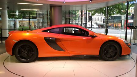 A McLaren 650S will be one of the star attractions at Classic and Sports Cars by the Lake at Fornham