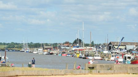 Generic Views of Southwold Harbour.