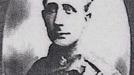Walter Godfrey was a Braintree-born trooper with the Essex Yeomanry and died on October 7, 1918. Pho