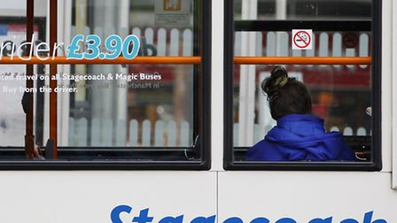 Stagecoach said more people got on board its buses this summer as the transport giant posted a 4% ri
