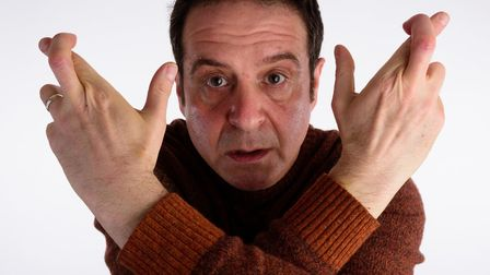 Mark Thomas will perform his new show at the Diss Corn Hall. Picture: Jane Hobson