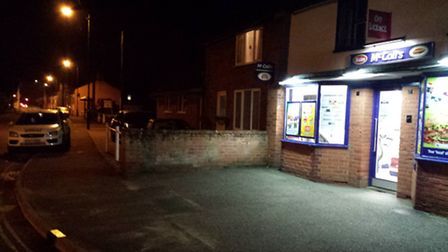 Armed robbery at Melton store