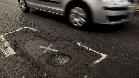 Pothholes and wornout roads are among motorists' main concerns.