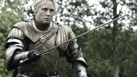 Gwendoline Christie as Brienne Of Tarth in Game of Thrones one of many modern TV series made with a