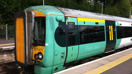 The new trains on the Southern Rail routes from London are much better than Greater Anglia commuter