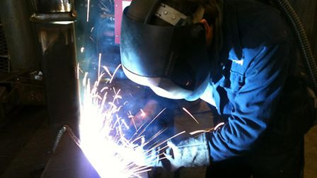 Manufacturing in the UK has slowed, figures show