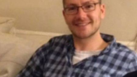 William Pooley from Eyke, near Woodbridge, who has contracted Ebola