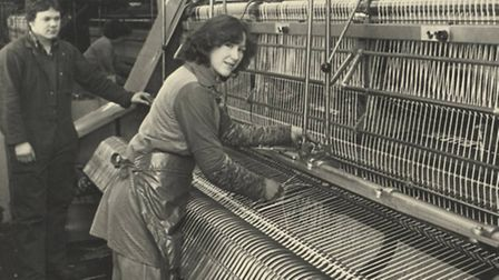 Harrod UK is celebrating its 60th anniversary this year. Staff at work in the 1980s.