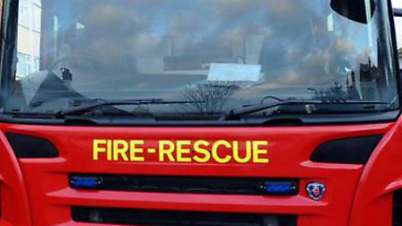 Firefighters tackle muck blaze
