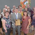 Albany PRU withe their Families First award
