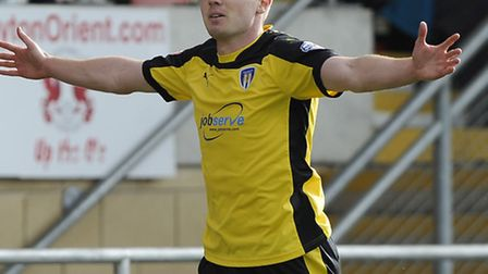 Freddie Sears, who scored the first goal at Crewe this afternoon