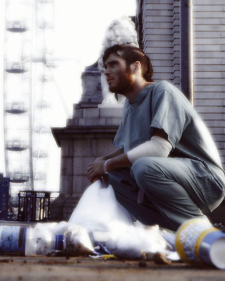 Cillian Murphy , the star of 28 Days Later . Picture: Fox