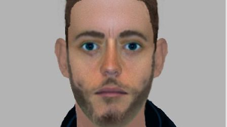 An e-fit of the man police want to speak to in connection with a burglary in Witham
