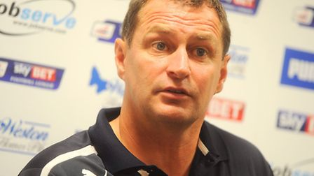 Colchester United boss Tony Humes