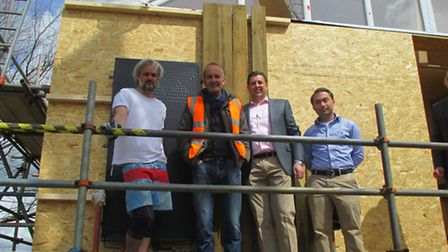 The Magic Thermodynamic Box installation in Cornwall which is to feature on Channel 4's Grand Design