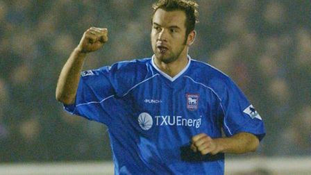 Marcus Stewart, pictured during his playing days at Ipswich Town