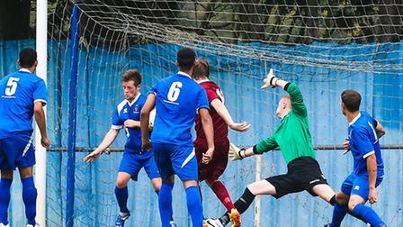 Controversy struck on Saturday as Ipswich Wanderers' Dan Tredray was sent off for this handball in t