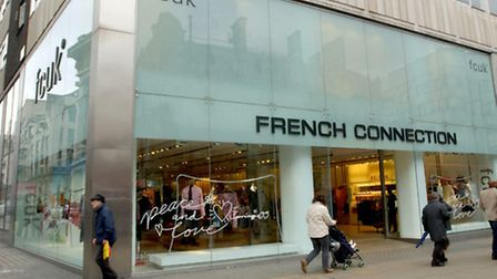 A French Connection store in London.
