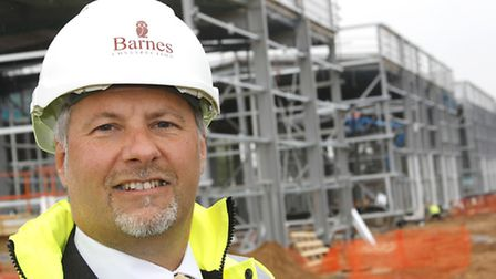 Nick Fayers of Barnes Construction.