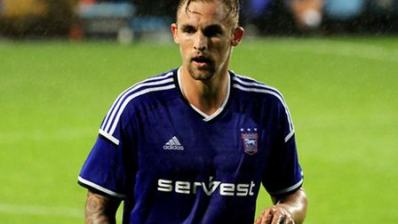 Jack Collison in action for Ipswich's Under-21s