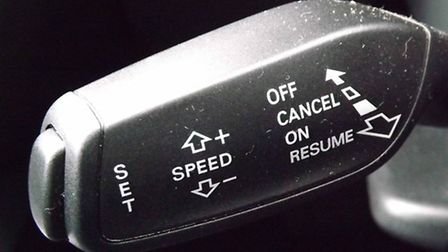 Get switched on to the benefits of cruise control.