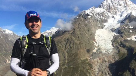 Ali Kerr completed the Ultra-Trail Du Mont-Blanc for the Laureus Sport for Good Foundation