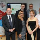 The launch of the Fresh Aspiration Forum at Framlingham Technology Centre. Back L-R: Chris Perry (Sw