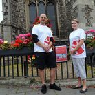 David and Alison Float are attempting to set up the first branch of Save the Children in Suffolk. Da