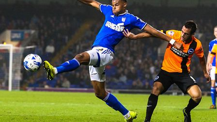 Tyrone Mings in action. Picture: Steve Waller