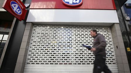 Phones 4u stores will remain closed today, according to the company's administrators.